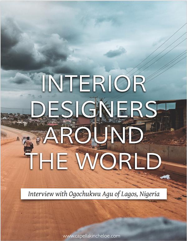 Interior designers around the world interview with Ogochukwu Agu of Lagos, Nigeria #interiordesignbusiness #realdesigner #cktradesecrets #interiordesignnigeria