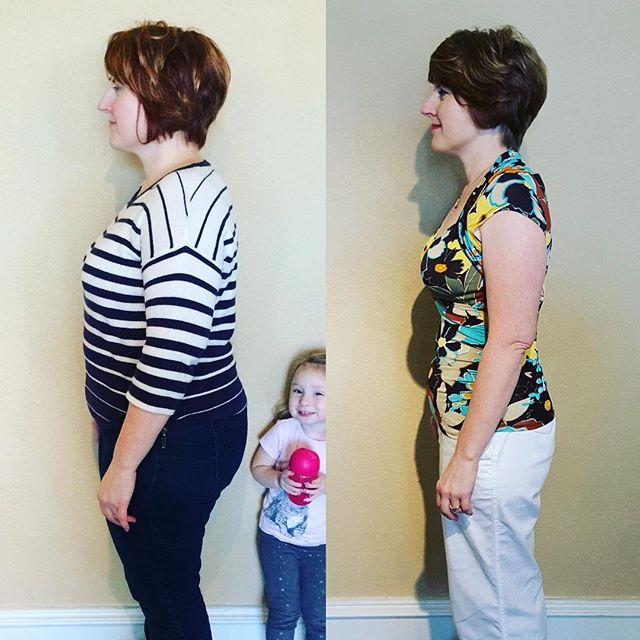 Profile shot of Rachel! Congrats on your transformation!  #sacramentofatloss #NutriMost #sacramento #cleaneating #weightlossjourney #transformation