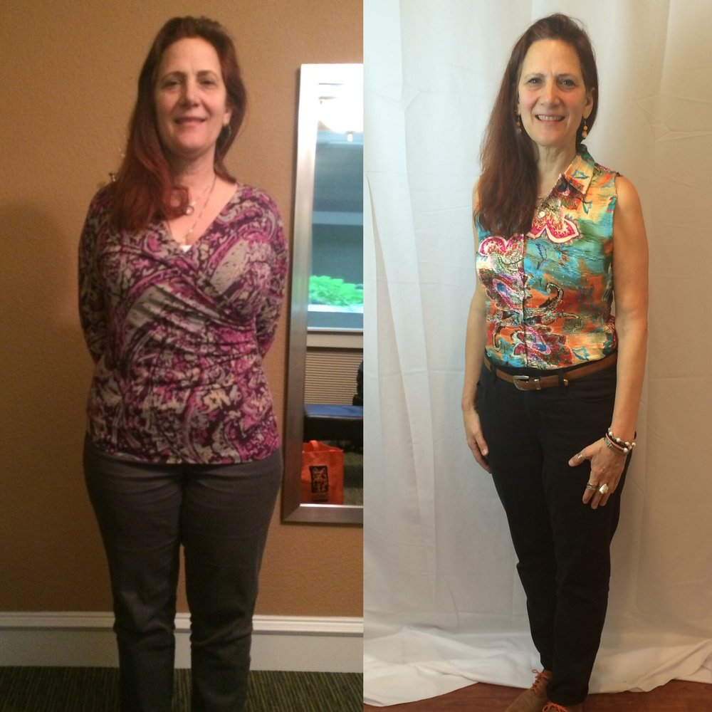 Marianne lost 38 lbs in 40 Days -