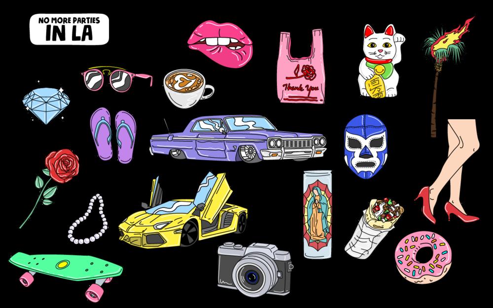 LA Sticker Pack