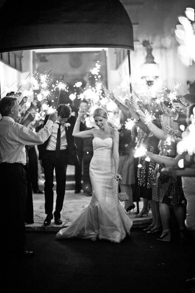 Sparkler-Send-Off