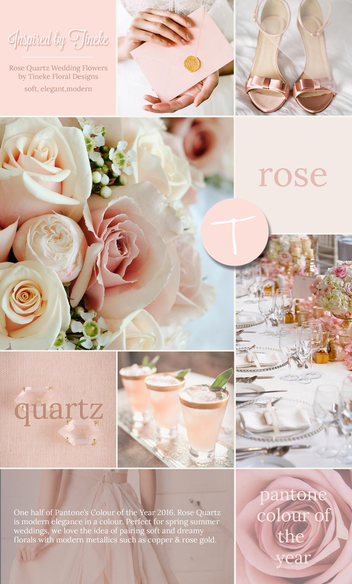 rose quartz pantone inspiration boards