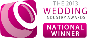 The wedding industry awards national winner Florist Derbyshire and Nottinghamshire