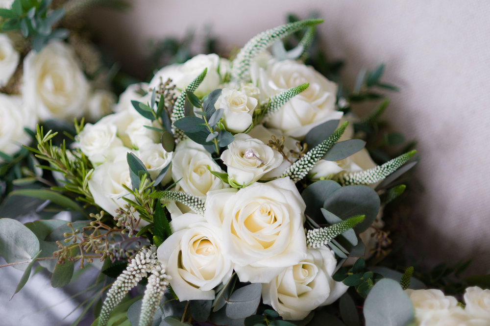 Charlotte's Bridal Bouquet by Tineke