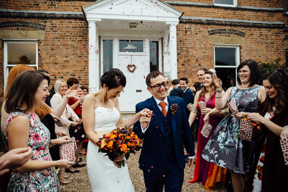 Shottle Hall Autumn wedding with autumnal flowers, styled by Tineke Floral Design in Derbyshire.