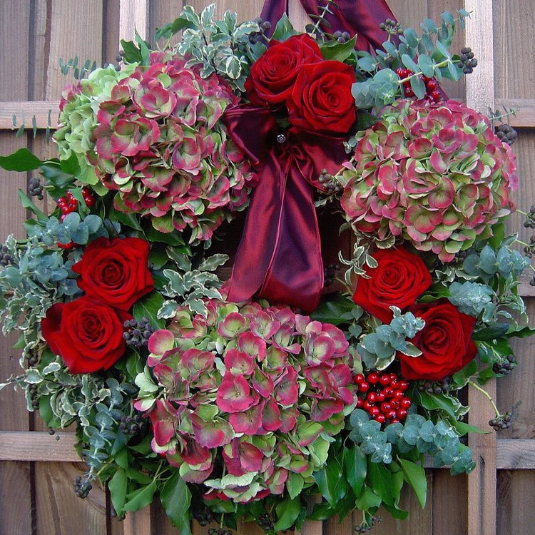 Christmas Wreath Workshops Derbyshire