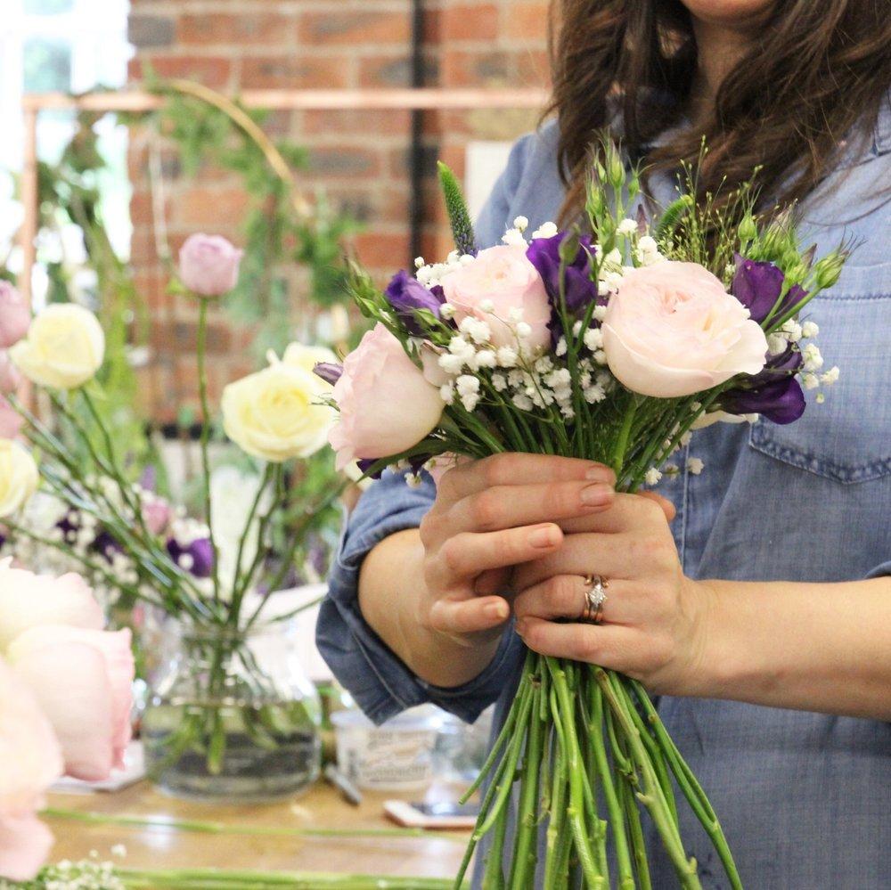 Floristry courses Derbyshire