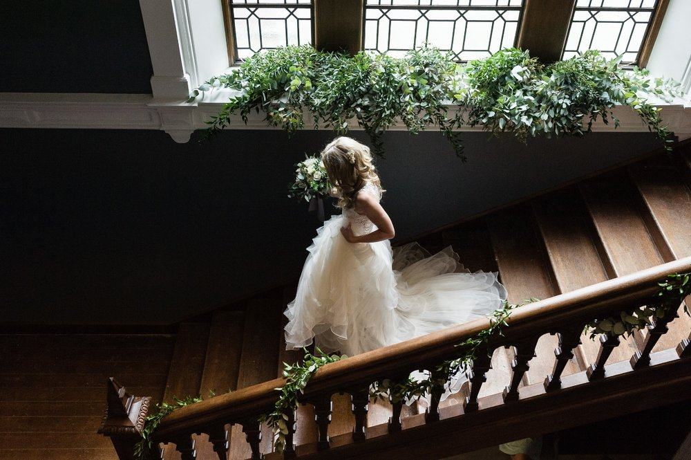 Derbyshire wedding florist
