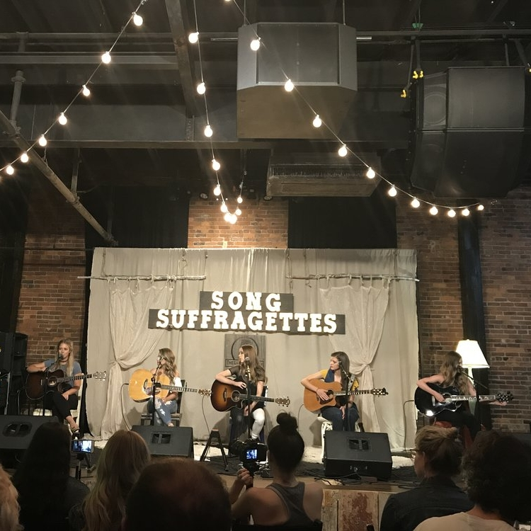The Song Suffragettes - Neighborhood: DowntownAll-female singer/songwriter round every Monday night at the Listening Room.