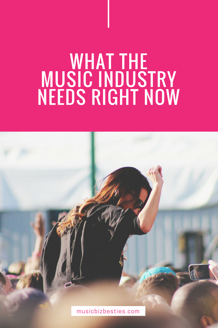 What the Music Industry Needs Right Now | Music Biz Besties, Katherine Forbes