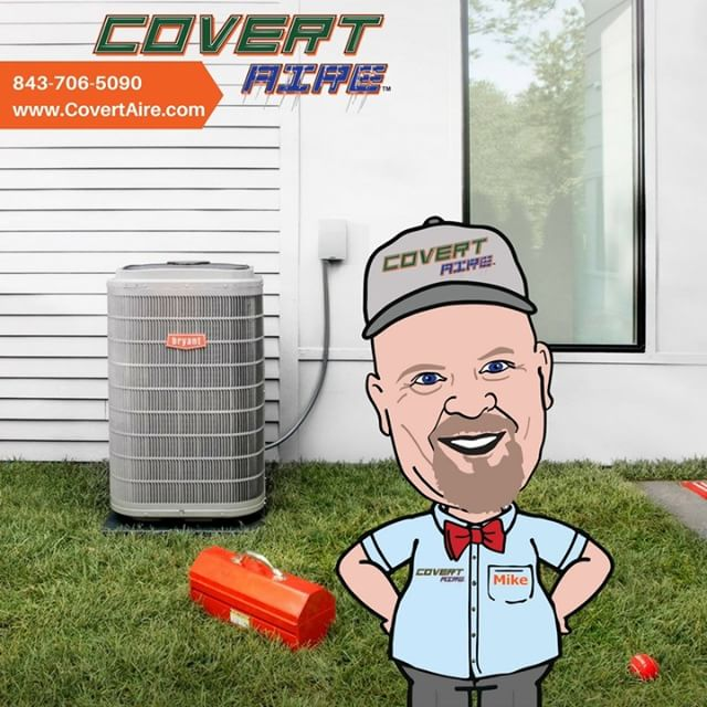 Our Technicians including Tiny Mike are here to serve you 24/7!  Feeling Hot!! Give us a call and we will get you back to comfortable!