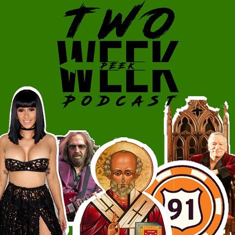 "We are excited to announce our next project. The Two Week Peek Podcast! Tune in to hear their takes on some news stories from the last two weeks. Search ""Two Week Peek Podcast"" on SoundCloud!"