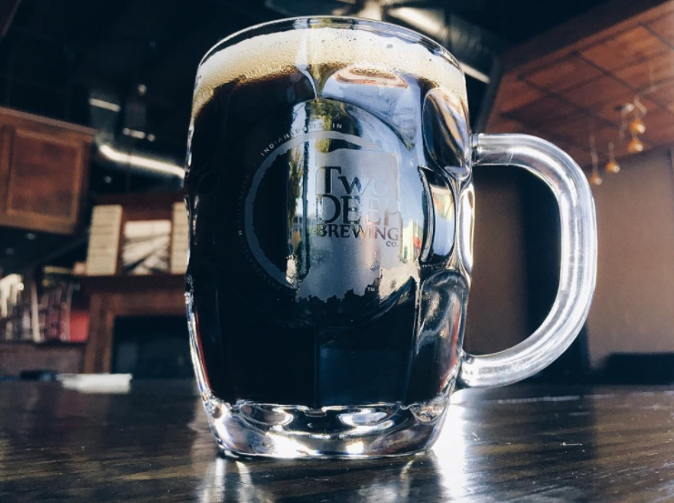 EXTRA OUNCES  Drink from your personal 20 oz. TwoDEEP Brewing Co. mug each time you enjoy a beer in the TapRoom.