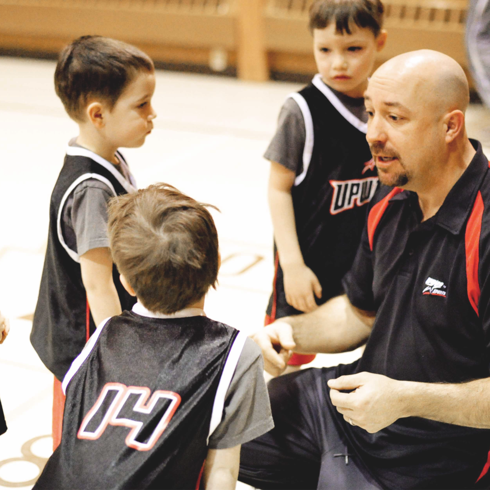 Upward Coaches - Coaches and referees are an essential part of the Upward experience. Those who volunteer their time and energy can help make an impact on a child's life. As a coach, you're not just teaching athletic skills and techniques, but helping invest into a child's spiritual life.High school students may only select the