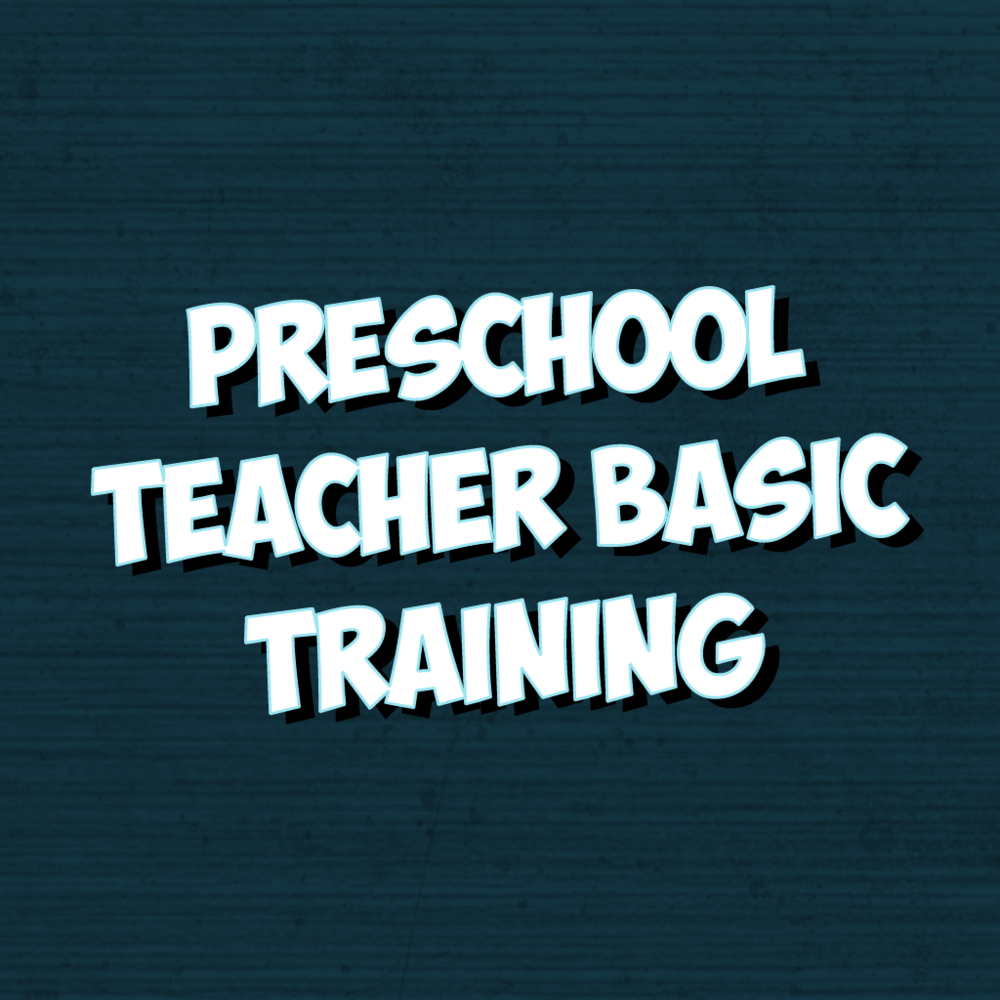 Preschool Teacher Basic Training (Repeat from 2017) - Participants will gain basic information on working in a preschool classroom during Sunday morning sessions and the Wednesday night session. Bring any questions you have with you!This session will be led by Karen McKnight and is limited to the first 25 registrants.