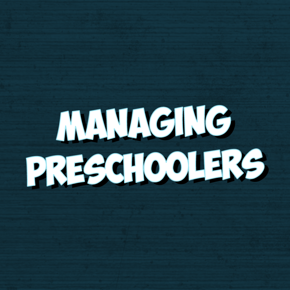Managing Preschoolers - Effective preschool management skills and strategies that will help make your time in the classroom more smooth and enjoyable.This session will be led by Bethany Benton and is limited to the first 25 registrants.