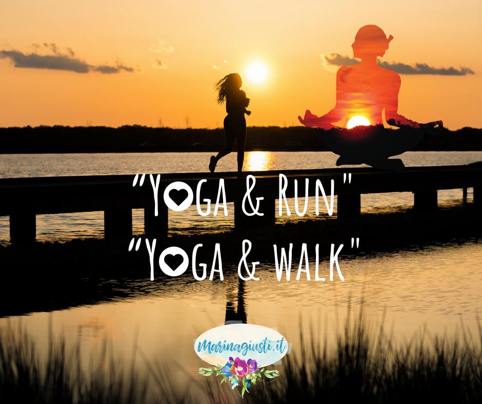 yoga running corsa parco