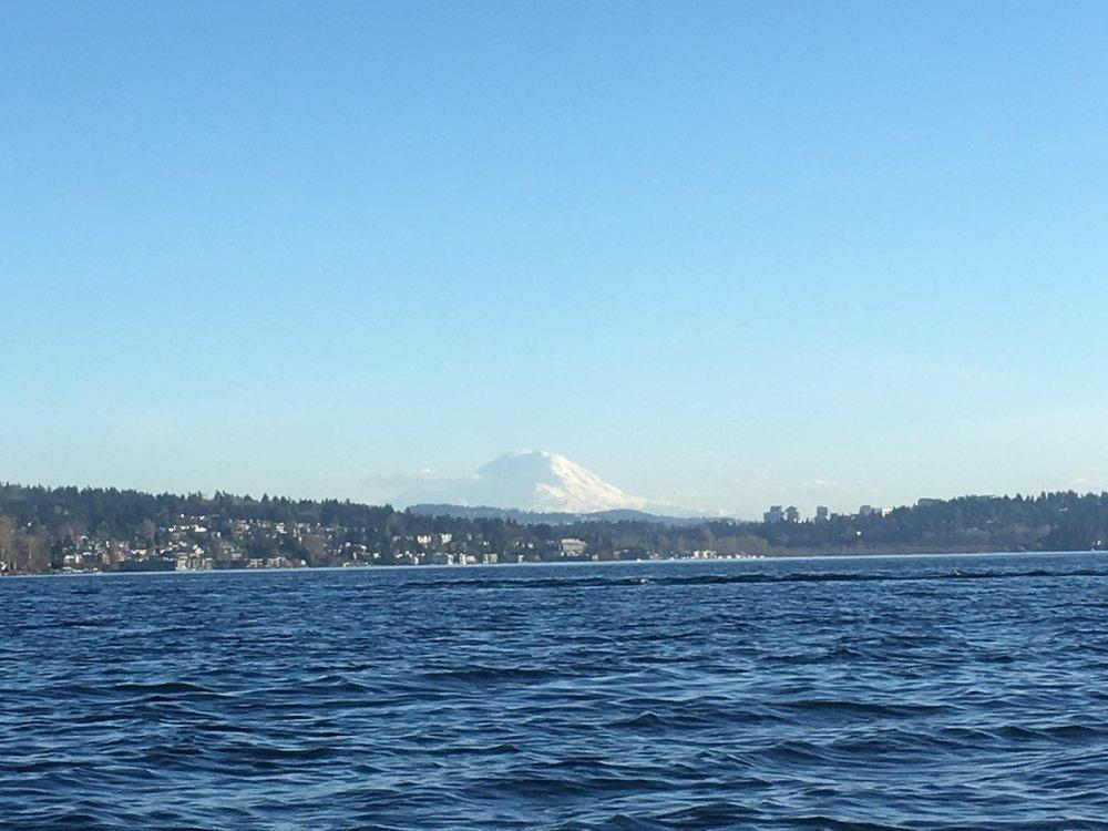 Mt. Rainier, iPhone 6s zoomed in