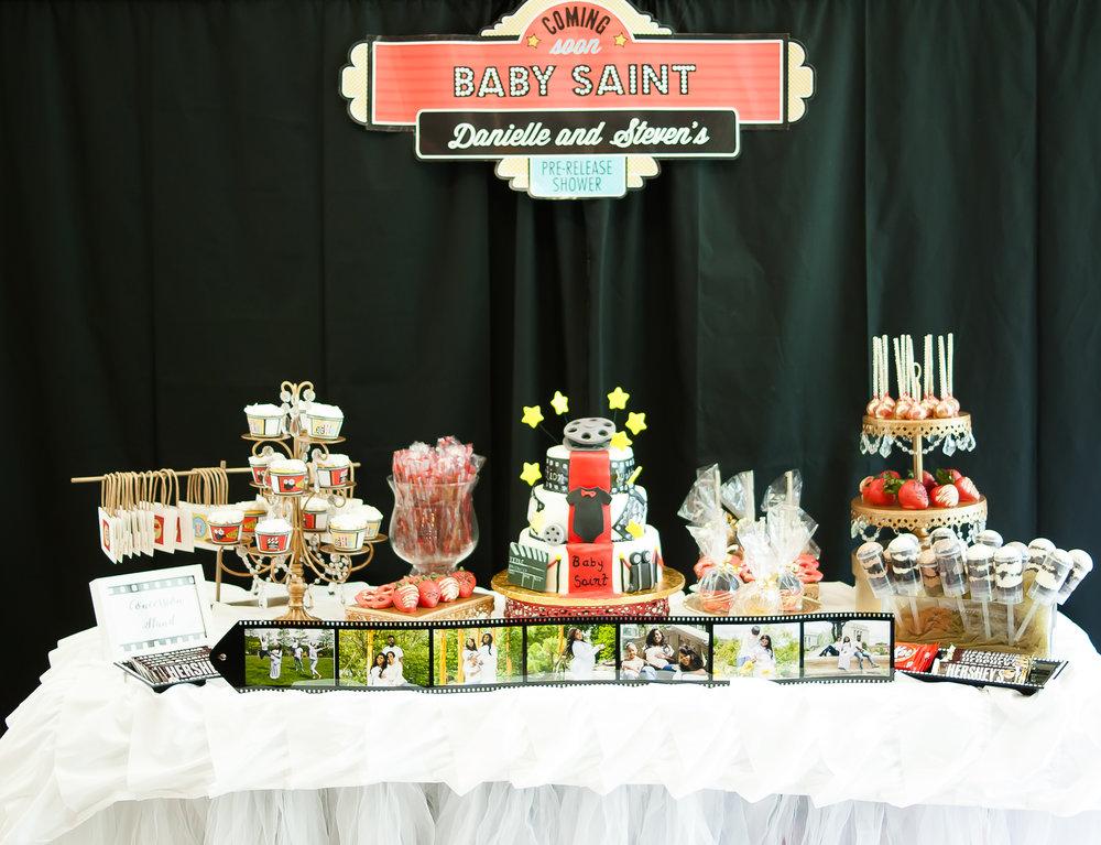 Movie Dessert Table