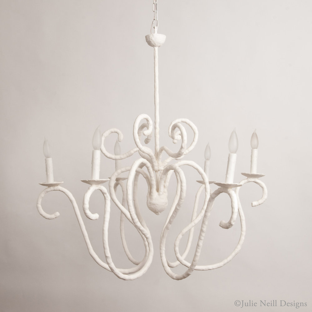 Plastered_Chandelier_JulieNeillDesigns