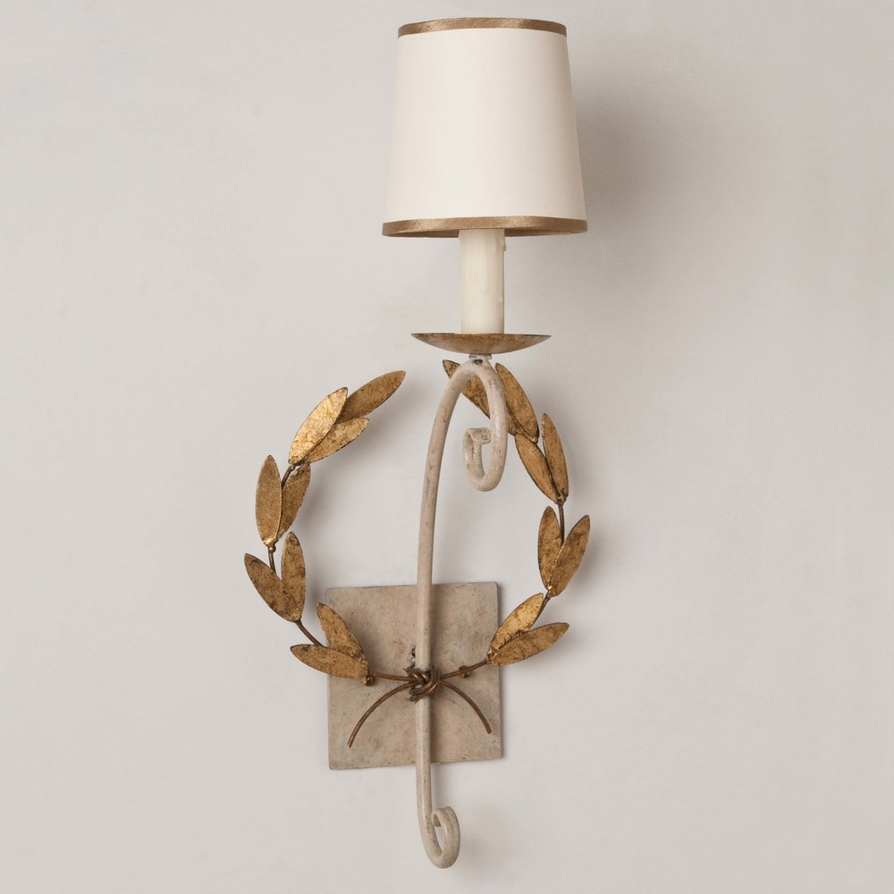 Wreath Sconce