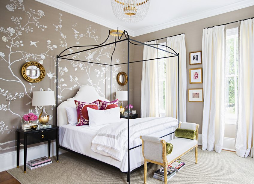 Adelaide Chandelier in Paloma Contreras Bedroom Design