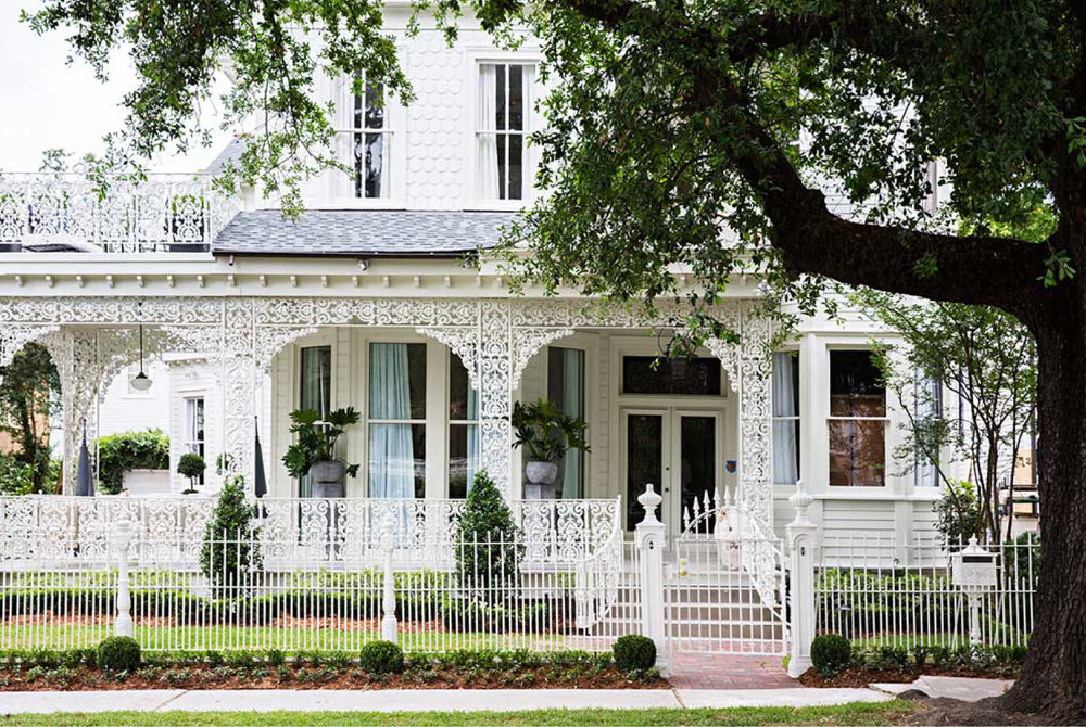 Exterior of the Southern Style Now Showhouse