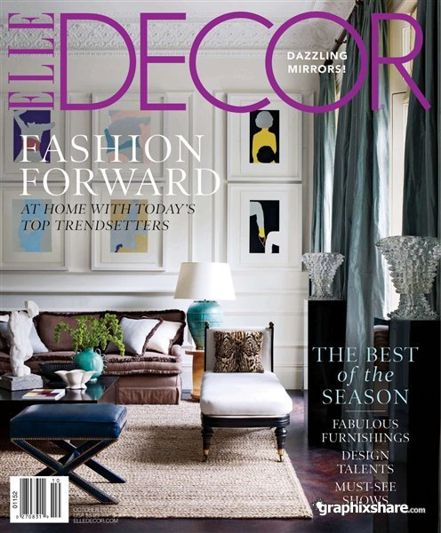 Elle Decor October 2011