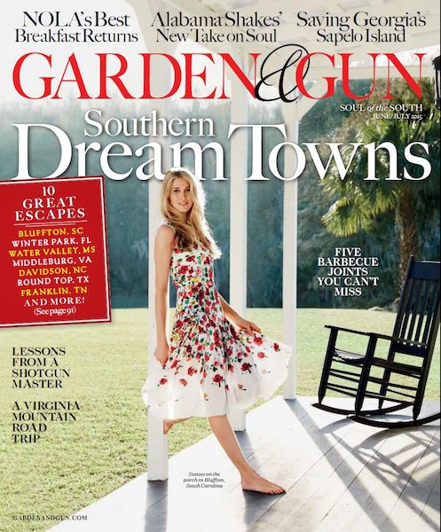 Garden & Gun June / July 2015