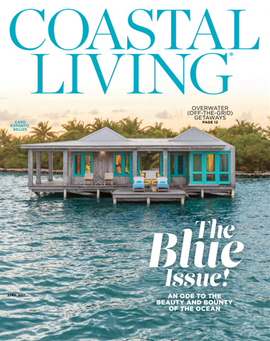 Coastal Living April 2017