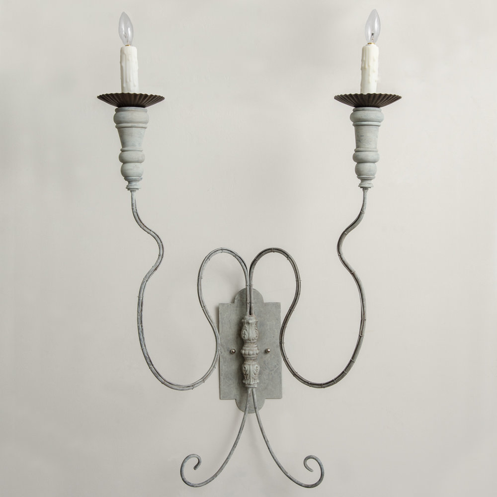 Fifa Large 2-Arm Sconce *