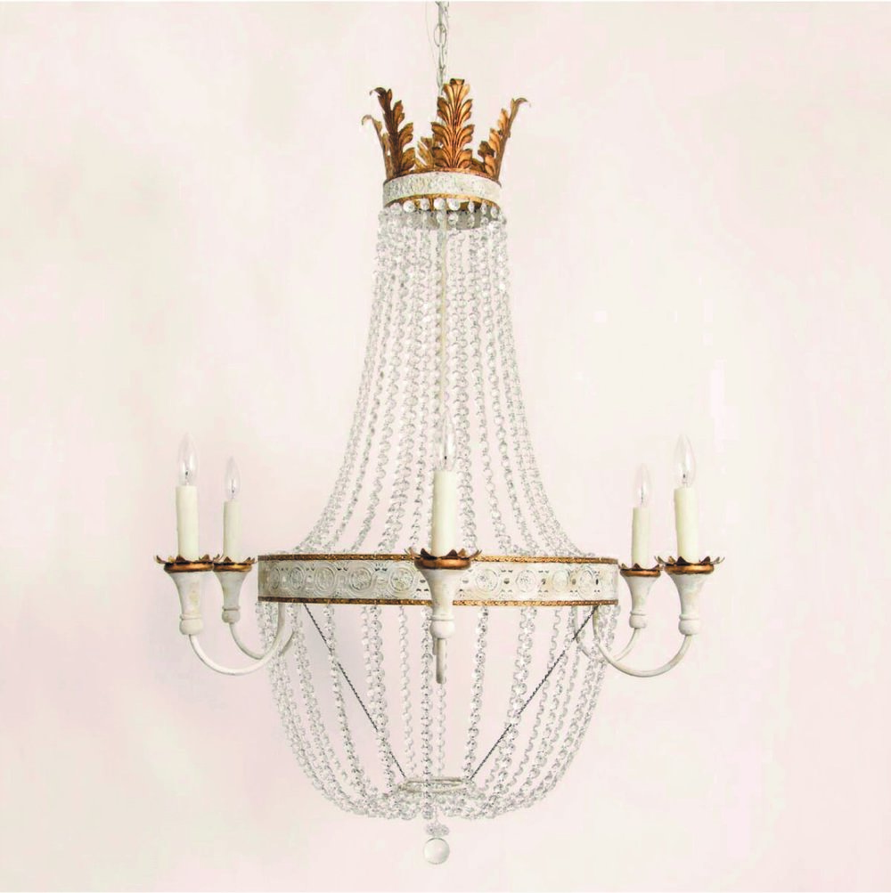 Lizette 6 Arm Chandelier *