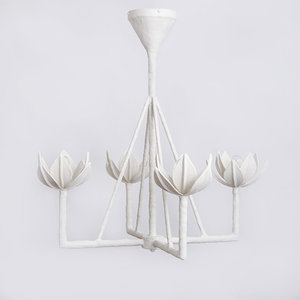 Plaster lighting julie neill designs diego single tier chandelier aloadofball Images