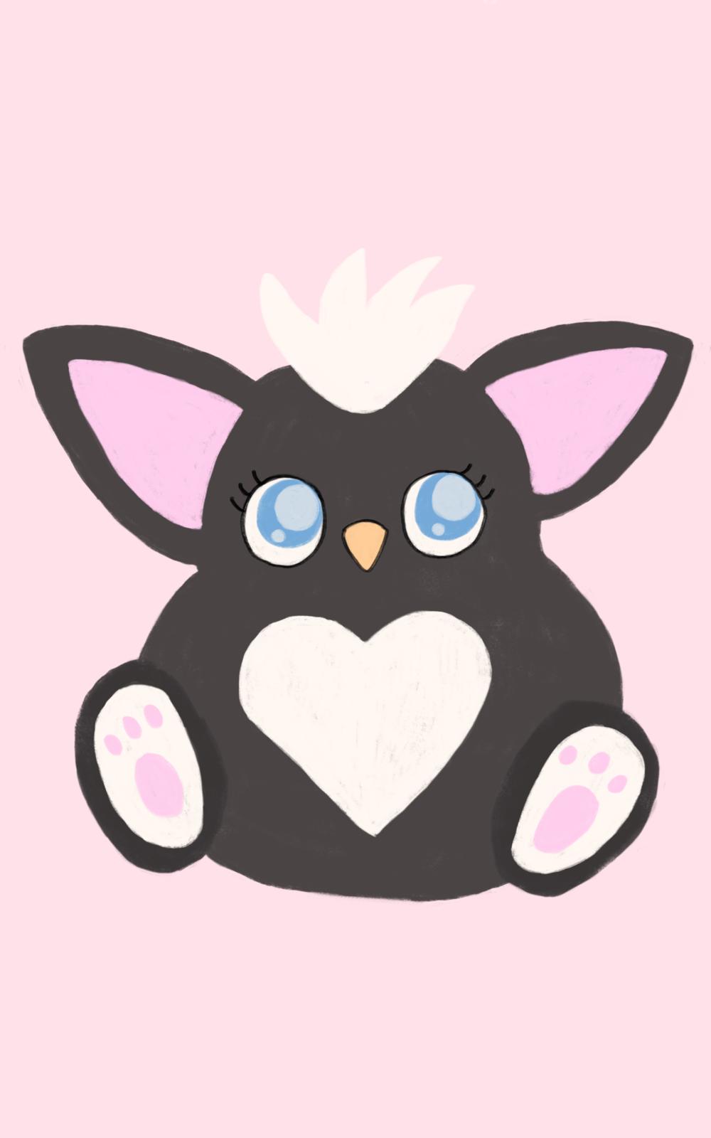 Skunk Furby Color