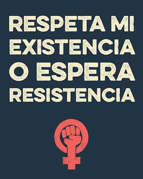Estamos juntas, reconociendo que defender la más marginada entre nosotras defiende todos nosotros #WomensMarch
