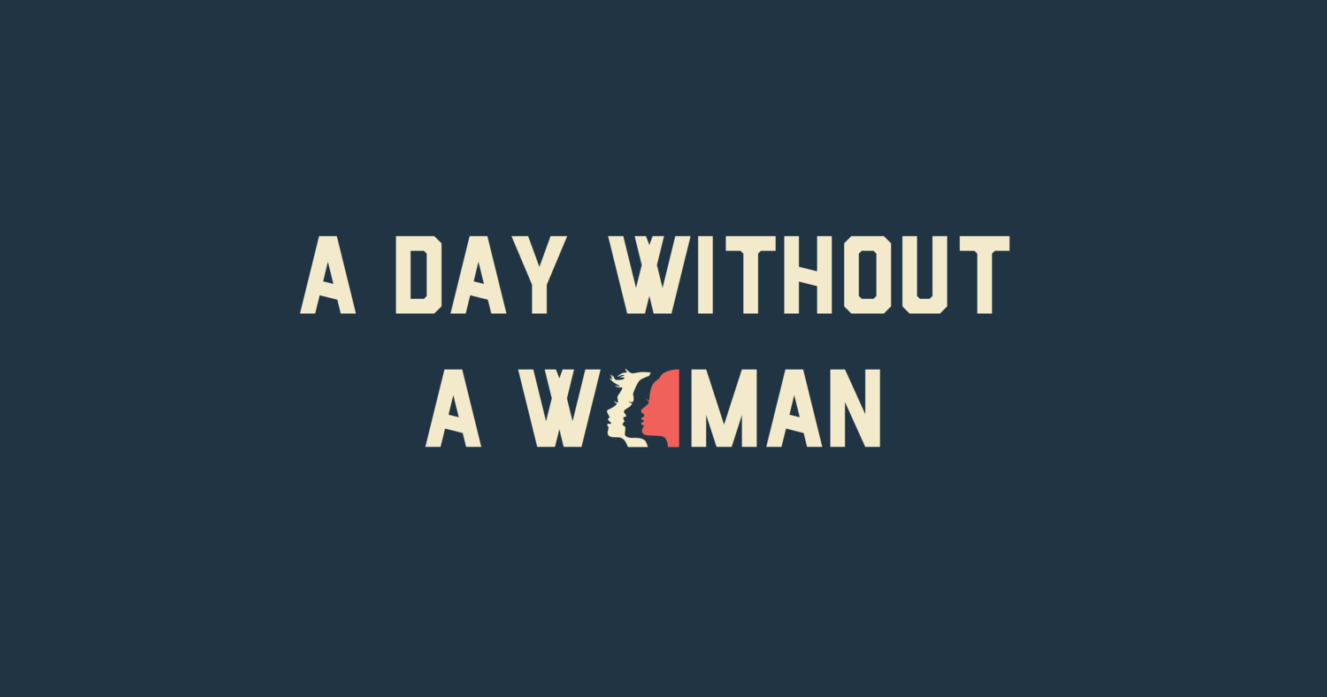 a day without a woman women s march