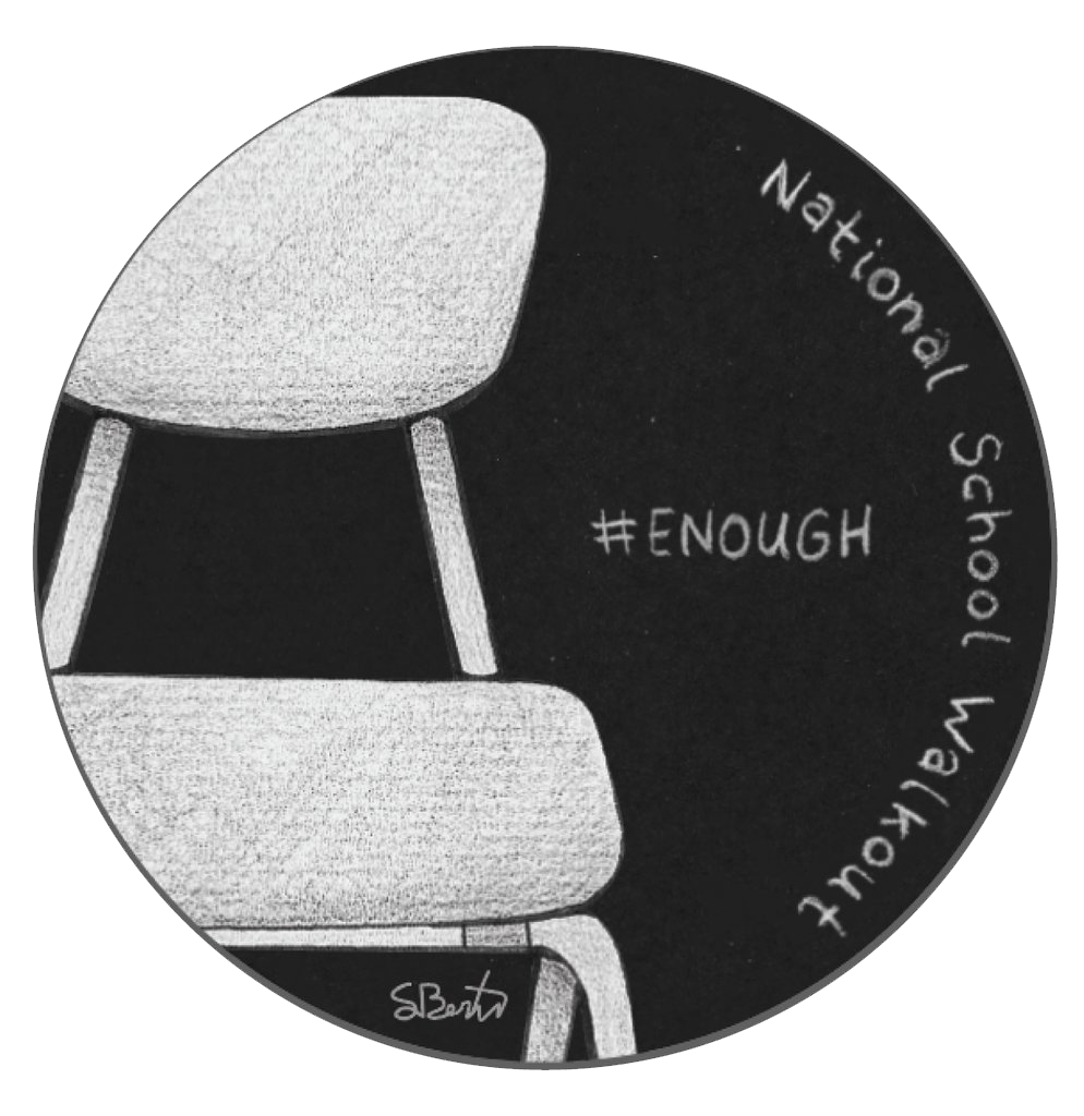 #ENOUGH PIN