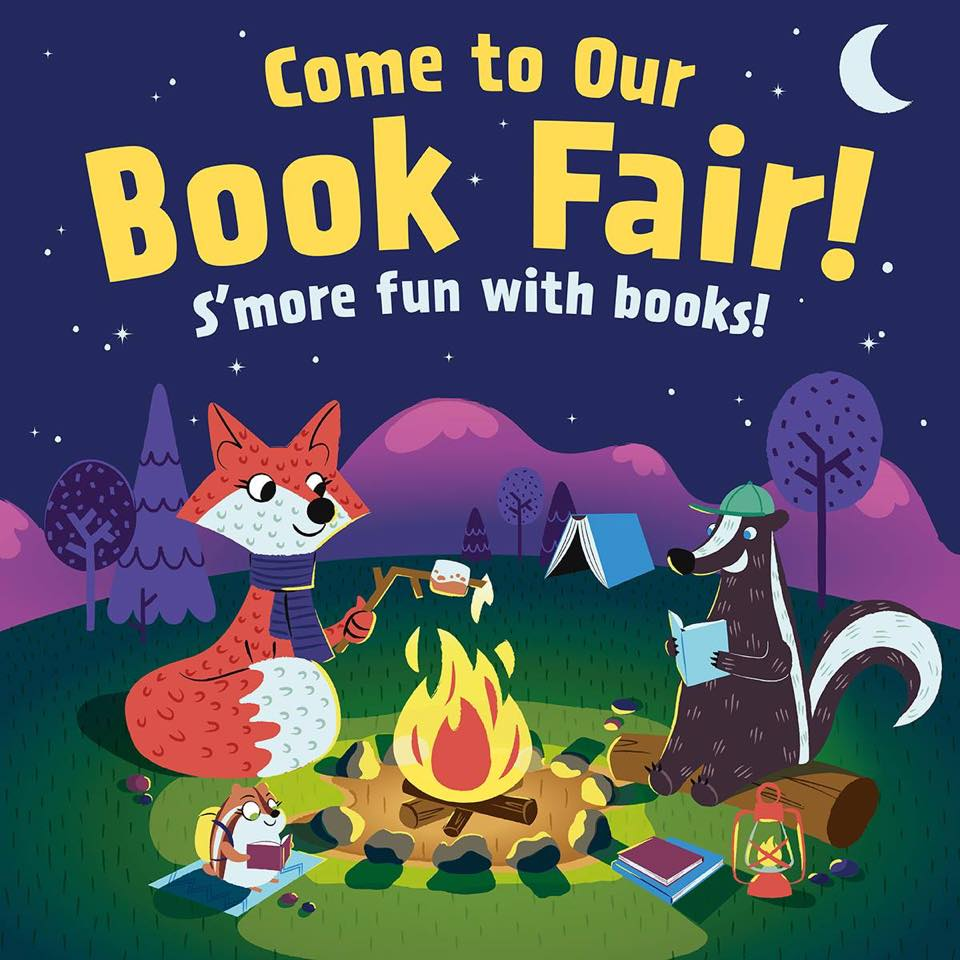 Scholastic Book Fair in the Atrium!  Books are a great way to encourage a love of learning in your preschooler!  Don't miss it!