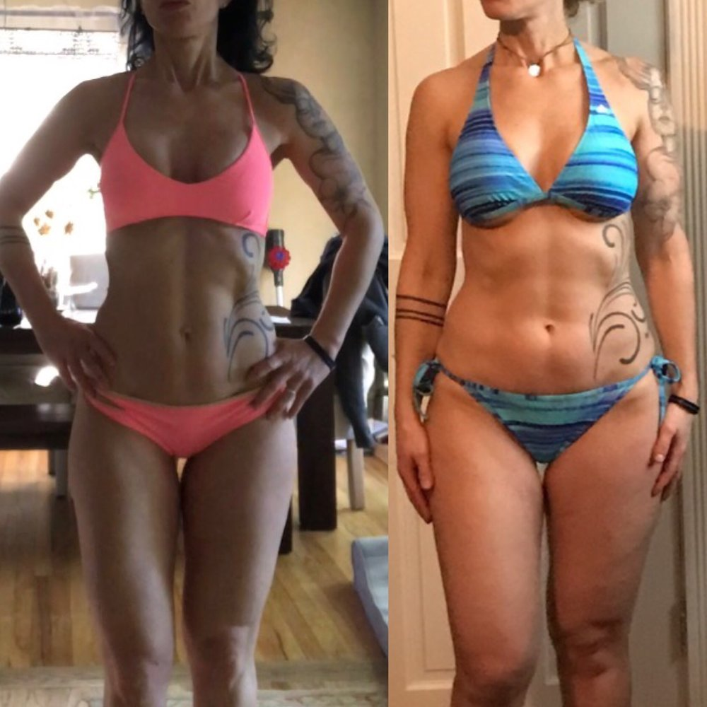 12 weeks transformation with lack of thyroid (20lb)