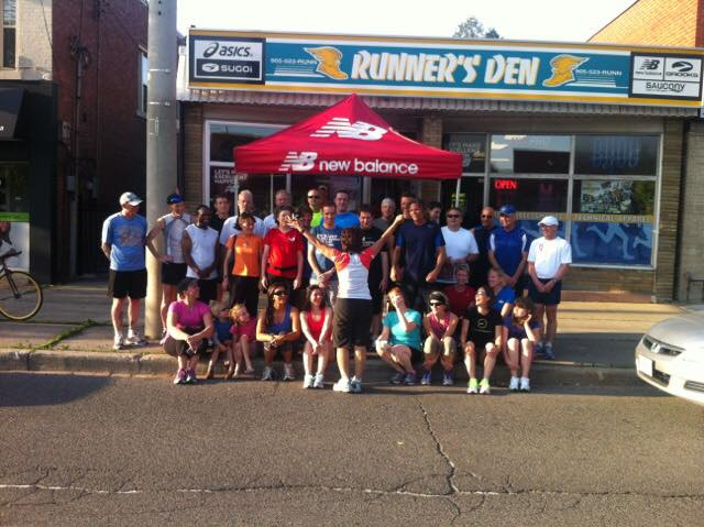 Runner's Den Clinics