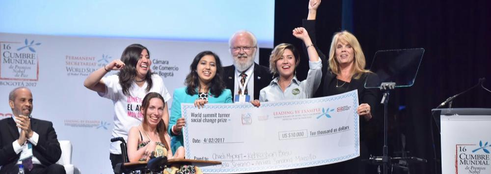 El Avispero recibe premio Turner a la transformación social.