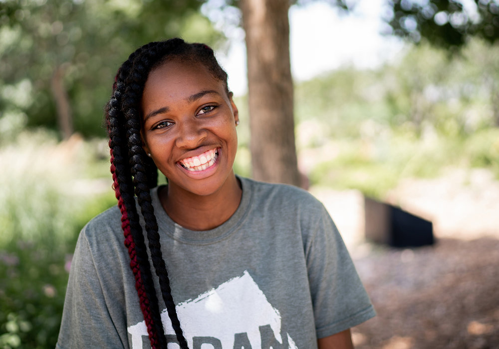 "Meet Kia - At only 15, Kia is thoughtful, driven, and wise beyond her years. ""I really like to help people, so I want to do something that gives back and that not many people of color are doing. I want to set an example. You know, 'If I can do this, you can too.'"""