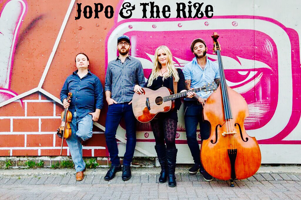 JoPo & The RiZe  are a soulful female led Canadian Rock Band, originating in Sudbury, Ontario, with roots extending deep into the Blues, Country and Rockabilly.