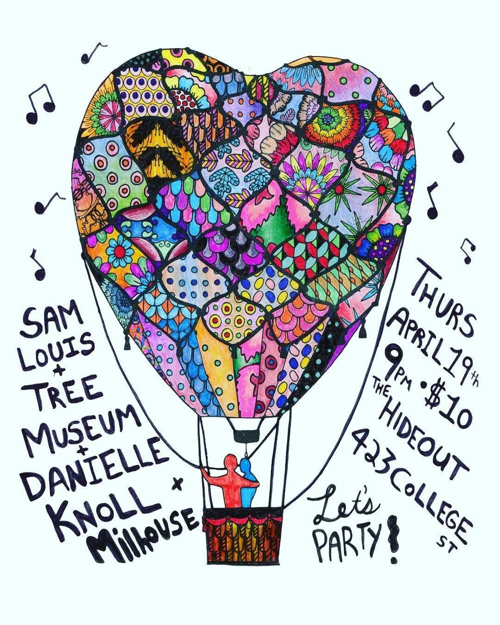 I'm turning 25!!! (on April 23d) And this is how I wanna celebrate it! Come out and say hey and dance and sing and drink and laugh and party with me! Yay birthday!  thurs april 19th doors 8:30pm cover $10   Sam Louis  @ 9:00pm  Danielle Knoll  @ 10:00pm  Tree Museum  @ 11:00pm  Milhouse  @ 12:00am