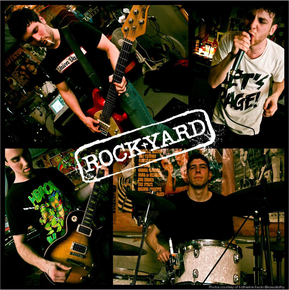 Rockyard  is a high energy dance-rock party band with an edgy twist. The  quartet applies a fresh and unique spin to popular music hits from the  1960's to present day. From Corporate Events and Weddings to Private  Parties and Clubs, Rockyard is perfect for any event looking for  standout entertainment.