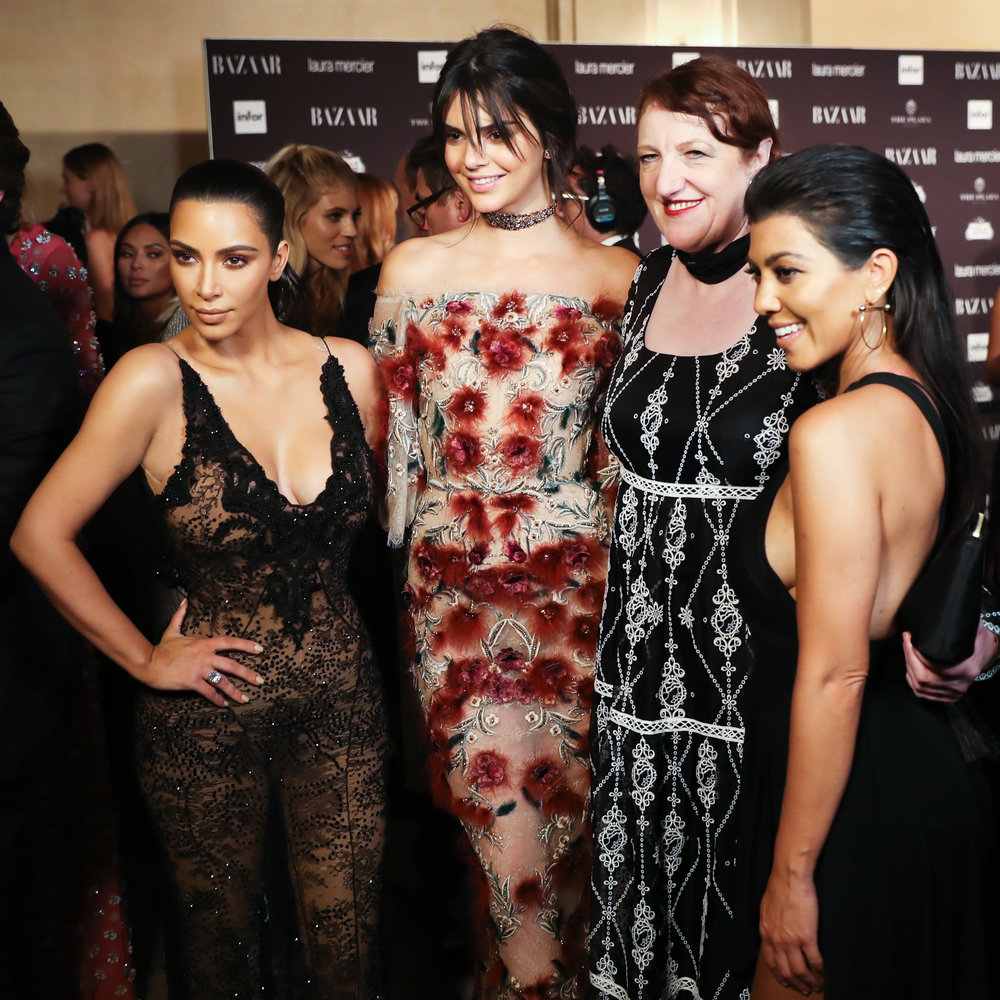 Editor-in-Chief Glenda Bailey, Kim Kardashian West, Kendall Jenner & Kourtney Kardashian attend Harper's BAZAAR's celebration of 'ICONS by Carine Roitfeld' presented by Infor, Laura Mercie and Stella Artois_BFA.jpg