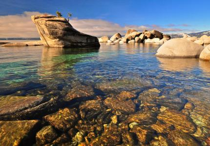 Rocky Coves in Lake Tahoe everywhere