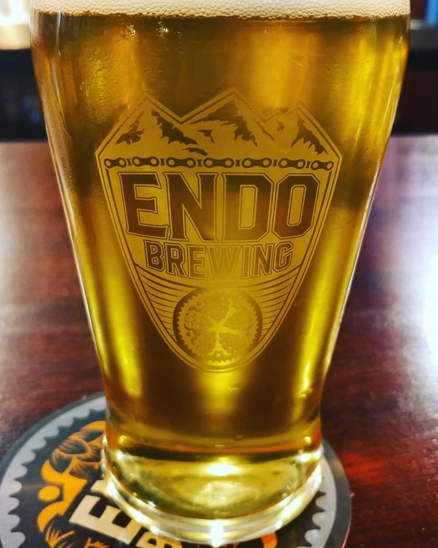 NOW POURING ENDO BREWING UNOBTAINIUM CZECH PILSNER