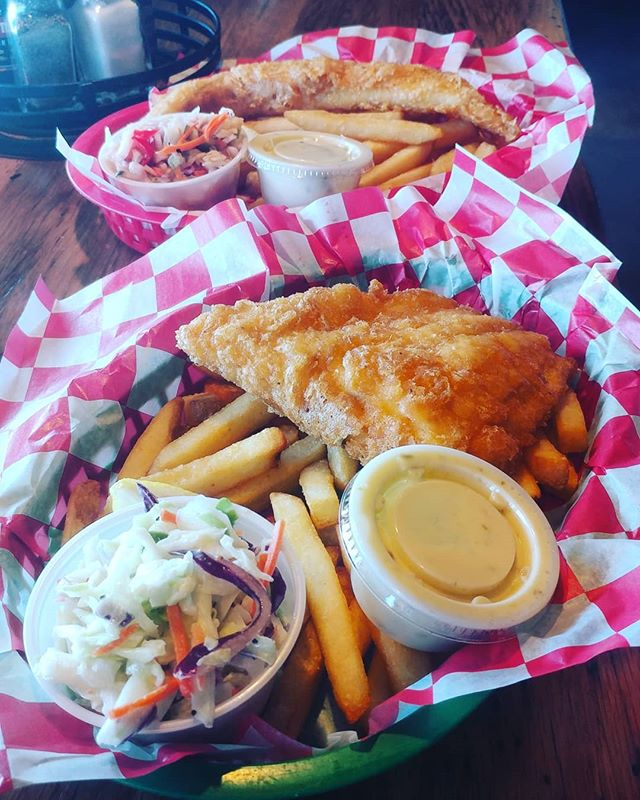 $10.95 Lunch Special!!! Fish, chips, slaw and a drink! Everyday, 11-2!