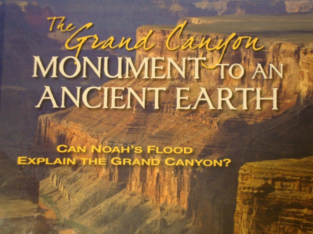 the grand canyon monument to an ancient earth